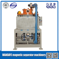 Water cooling wet type sand magnetic separator equipment machine