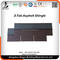 Building Material Roofing Material SONCAP COC 3 tab/4 tab/5 tab asphalt roofing shingles