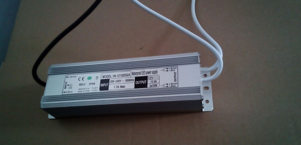 12V 10A 150w led power supply constant voltage