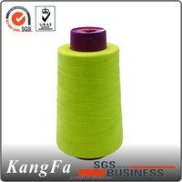 chinese production high strength polyester cotton thread