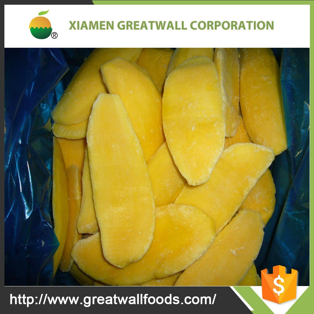 Frozen Mango Export From China to Mango Buyers