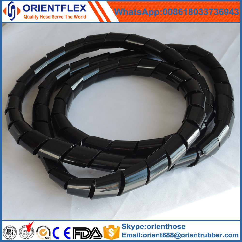 Rubber Hydraulic Hose PP Spiral shrink sleeve