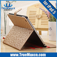 2015 New Arrival for iPad Air Colorful Leather Case, for iPad Air Stand Cover Case