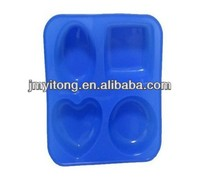 CUSTOM various shaoped silicone 3d cake mold bakery equipment