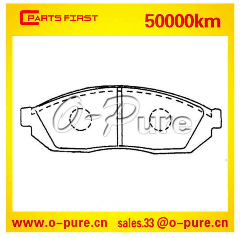 Brake pads and Car parts for Suzuki Alto and Carry Box O-pure ceramic brake pads 55210-78460