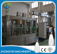 3000-20000bph plastic pure water/mineral water packaging machine/production line