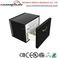 High quality hot sale silent drawer fridge/mini refrigerators with CE for car/hotel