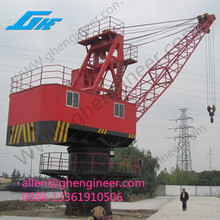 floating barges for sale FQ3033/5025 Four-bar linkage floating crane GHE
