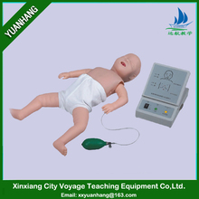 emergency training manikin on medical science subject /infant CPR training manikin