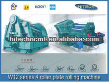 W12 series 4-roller plate rolling machine for steel plate