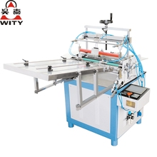 2017 High presicion model HD-500/650 semi auto Paper tube labeling machine