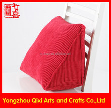 High quality chair cushion super soft triangle cushion