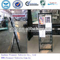 High Quality Metal Wire Folding Newspaper Rack (ISO SGS SUV Aproved)