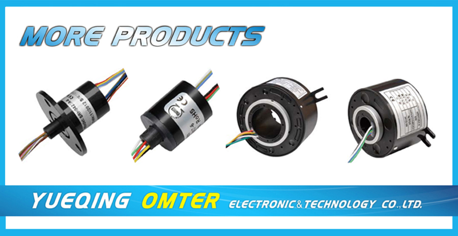 SRC032-4 through bore slip ring