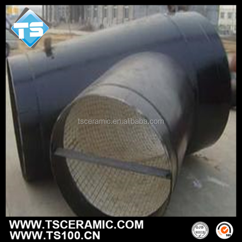 Acid-Resistant Alumina Elbow Ceramic Lining Steel Pipe,China Manufacturer