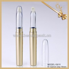 long golden empty lip gloss pen