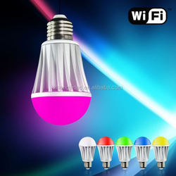 wifi led bulb zhongtian,WiFi bulb lamp