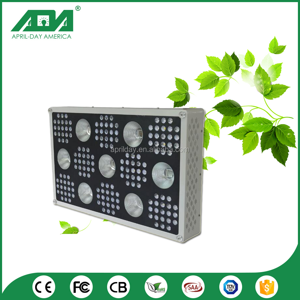 Short time delivery durable AC85~265V 1000w 1500w led grow lights for vegetables
