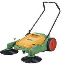 Walk behind sweeper mechanical hand push floor sweeper