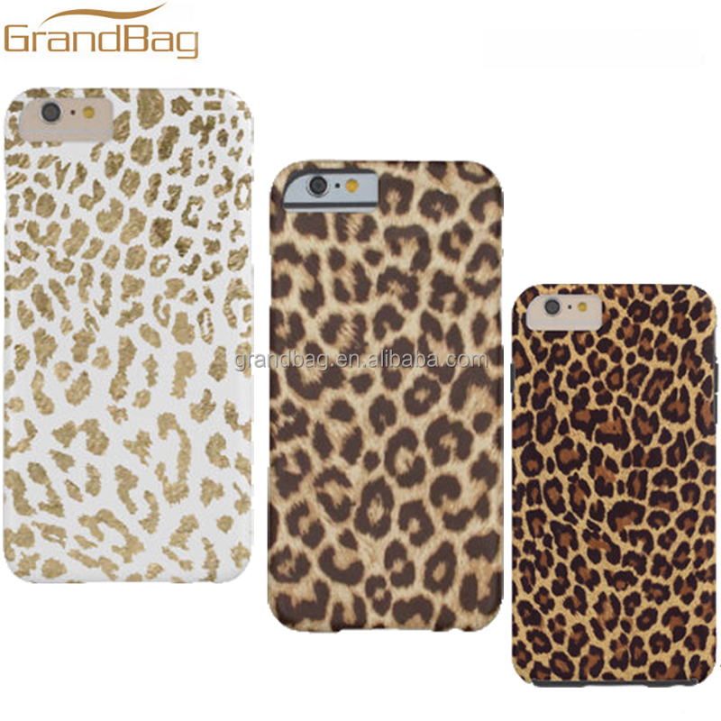China Supplier Hot selling leather leopard pattern phone case for Iphone5 5s Cell Phone Case for iphone6 6s mobile phone