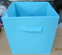 non-woven fabric storage box without label window