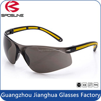 Patented Safety Glasses Shatterproof Eye Protection Rubber Temples Scratch Resistant Lenses For Welding Wookworking Hunting