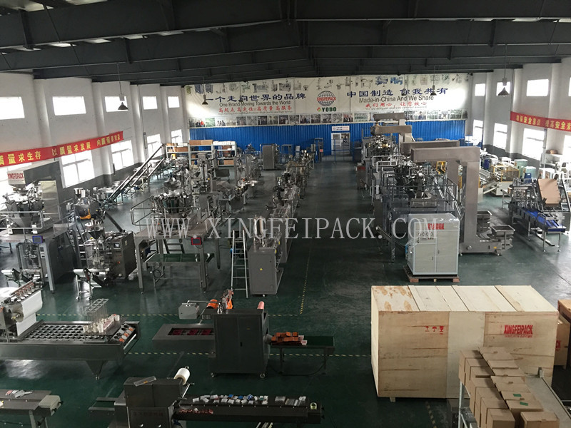 XFL granule solid food packing