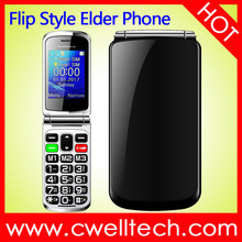 Big Button Big Fonts Flip Style Voice Keyboard SOS Function old man mobile phone