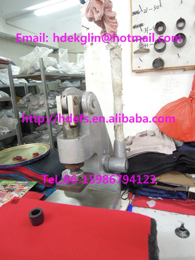 manual fabric cutting machine
