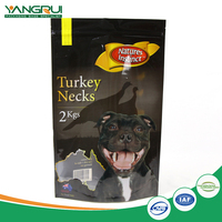 High quality side gusset plastic pet food bag packaging