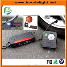 Hot Selling Powerbank Jump Starter Car Starter Power Battery Multi-function starter with air compressor