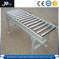 2016 China high quality carbon steel galvanized free roller conveyor table
