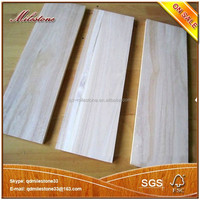 Paulownia Solid Wood Board / Paulownia Lumber for Drawer Slides, Furniture baord/Panel