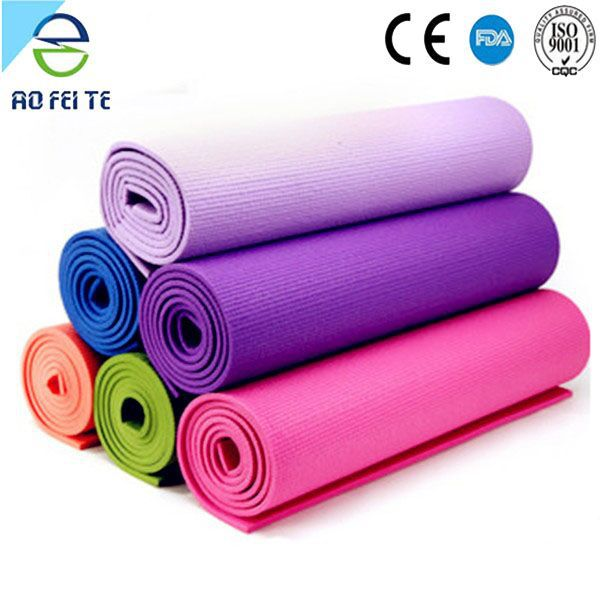 Health and Fitness 1/2-Inch Extra Thick 71-Inch Long NBR Comfort Foam Yoga Mat for Exercise, Yoga