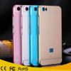 Luxury Aluminum metal bumper acrylic plastic back cover case for xiaomi mi 5
