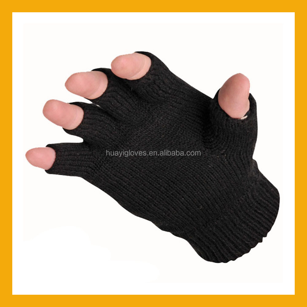 Hardwearing Acrylic Fingerless Knit Thinsulate Glove