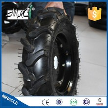 CHINA Factory Small Herringbone Tyre Wheel Rubber Pneumatic Wheelbarrow Wheel Tractor Wheel 5.00-12