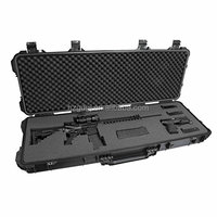 Airsoft military equitment plastic gun case