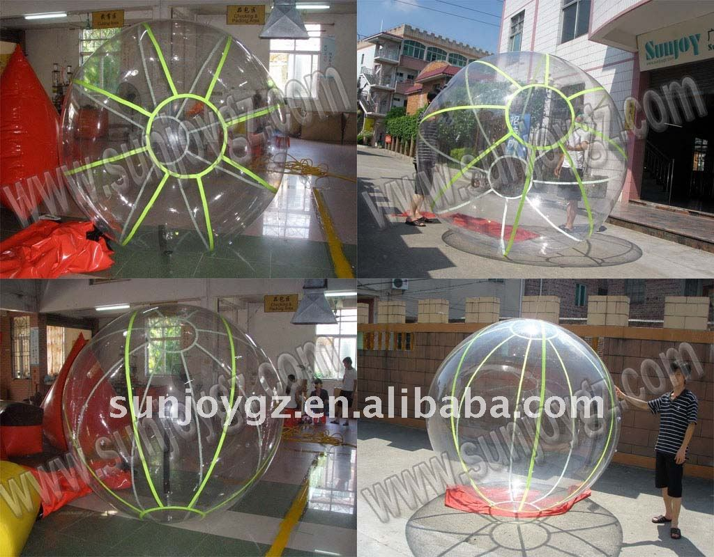 2016 HOT Outdoor Inflatable Fluorescent Water Walking Ball
