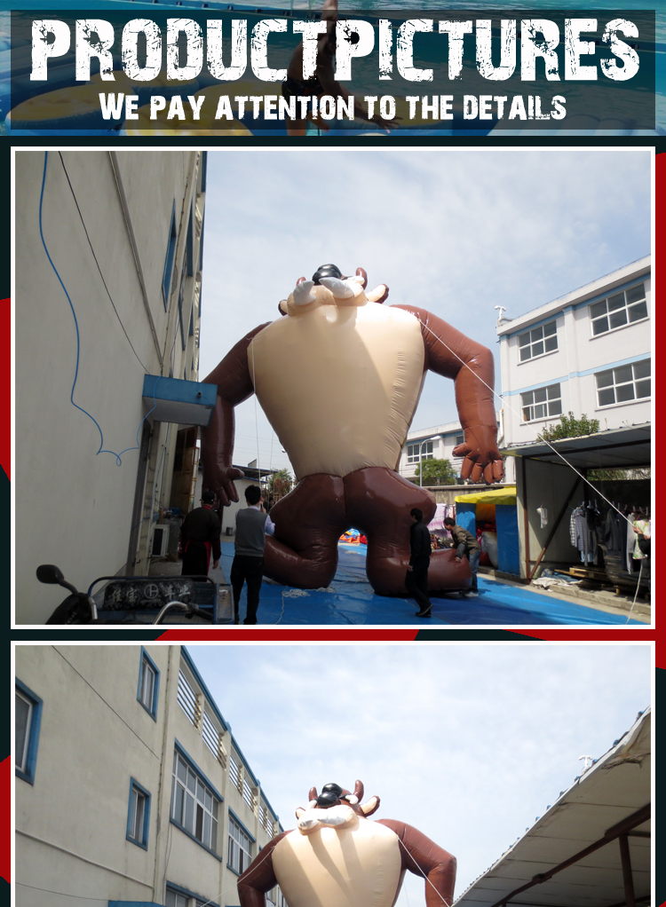 inflatable muscle man costume