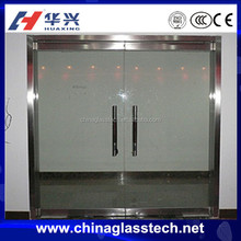 Unbreakable Laminated Fire Rated Glass Door