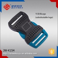 New Style Plastic Arched Inserting Buckle Side Release Buckle For Backpack Straps JW-K154