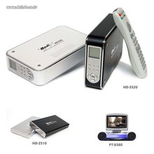 High Definition HDD / DVD Portable Media Player With USB2.0