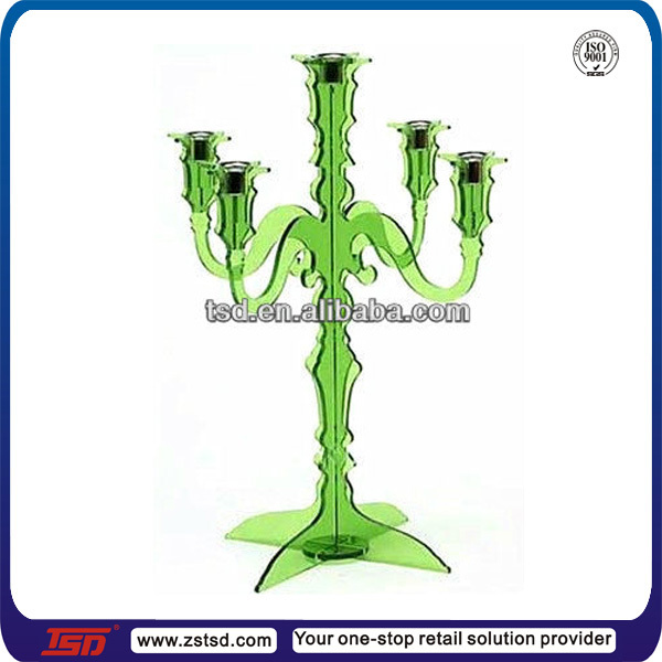 TSD-A718 candle holders candelabras sale/plastic candle holders votive/candle stick holders