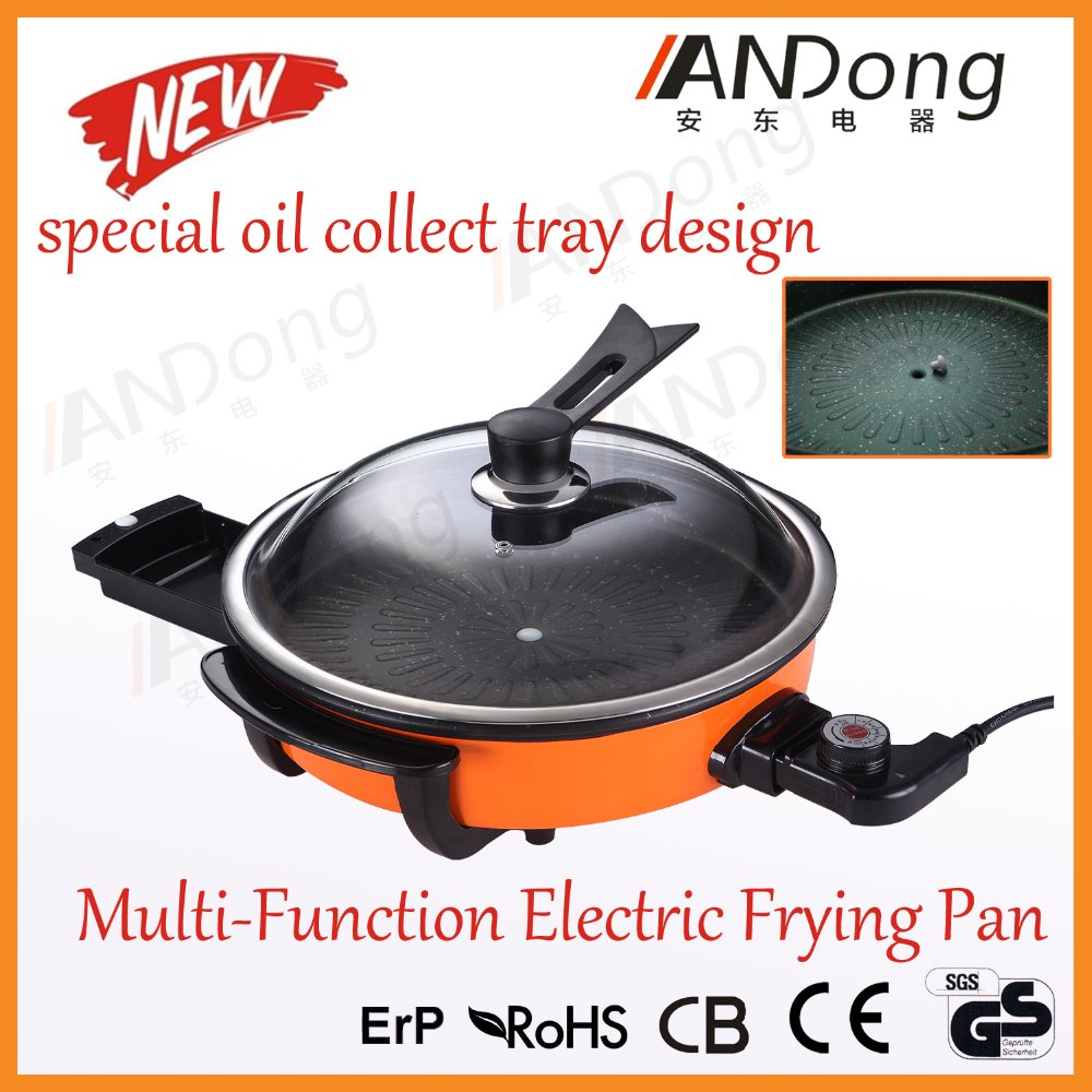 New Design Multi Function Korean Frying Pan