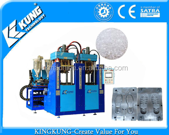 300 Ton TR/TPU shoe sole injection moulding machine