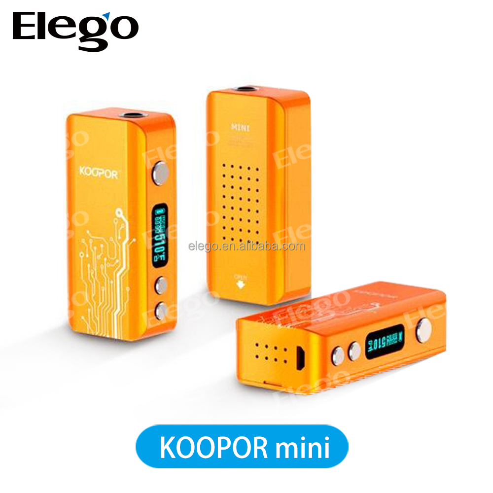 huge stock smok Koopor Mini 60w temperature control Box Mod TC mod in stock now