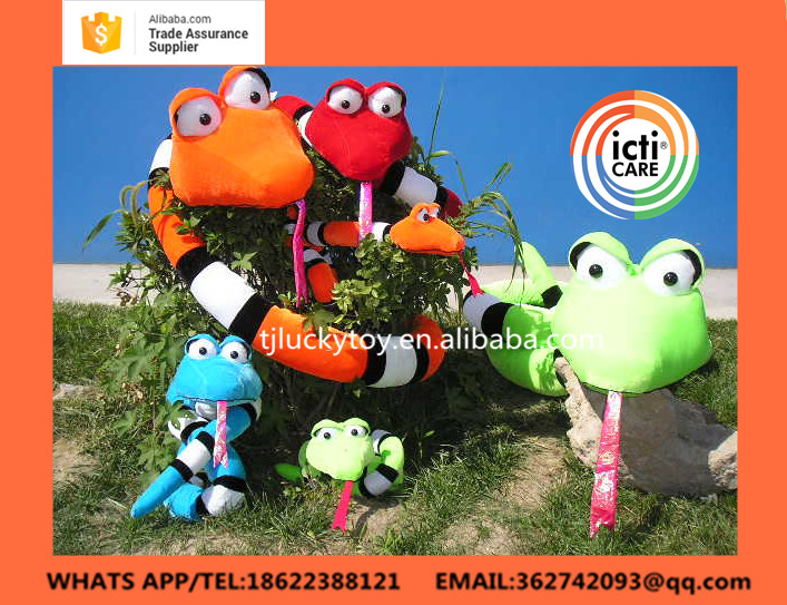 Custom Cheap Soft Snake Stuffed Animal Plush Toy,tianjin,Stuffed Toys