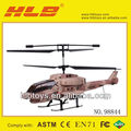 2.4G 3.5CH Radio Control Helicopter,Apache copter with gyro