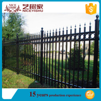 Yishujia factory Waterproof Aluminum Fence with High Quality, strong aluminum fence